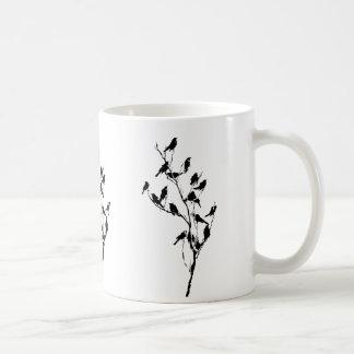Grackle Shadows Classic White Coffee Mug