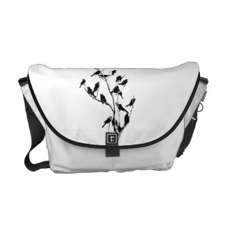 Grackle Shadows Courier Bag