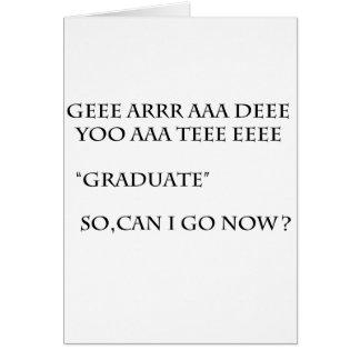 Grad 2011 greeting card