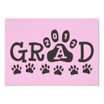 GRAD 2012 PAWS PERSONALIZED ANNOUNCEMENTS