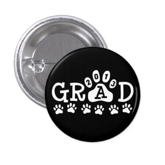 GRAD 2013 PAWS BUTTONS