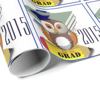 Grad 2015 gift wrap paper