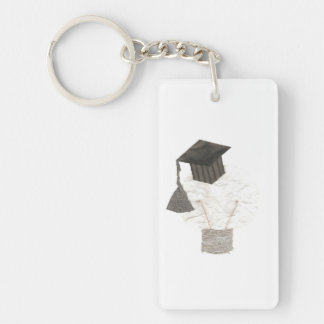 Grad Bulb Double Sided Keyring