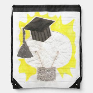 Grad Bulb Drawstring Bag