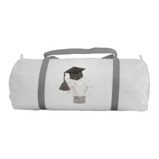 Grad Bulb No Background Duffle Gym Bag