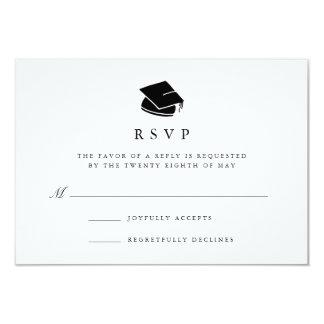 Grad Cap   Graduation Party RSVP Card