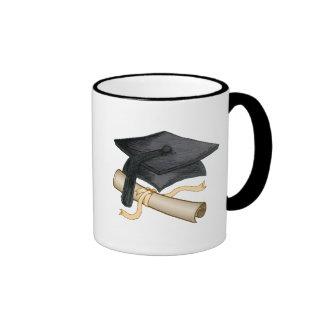 Grad Cap Coffee Mug