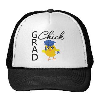 Grad Chick (Blue Cap) Trucker Hat