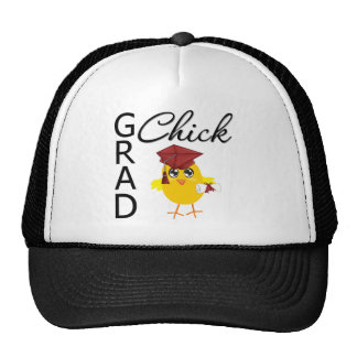 Grad Chicks (Burgundy Cap) Trucker Hat