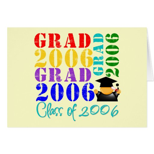 Grad  Class of 2006 Cards