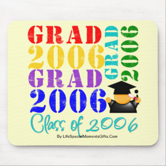 Grad  Class of 2006 Mouse Pad