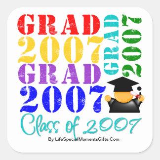 Grad  Class of 2007 Stickers