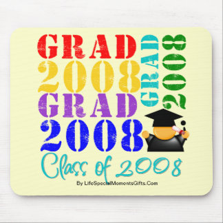 Grad  Class of 2008 Mouse Pad
