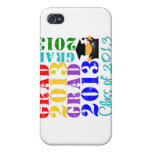 Grad Class of 2013 Case For iPhone 4