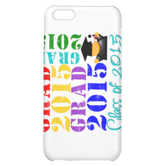 Grad Class of 2015 Cover For iPhone 5C
