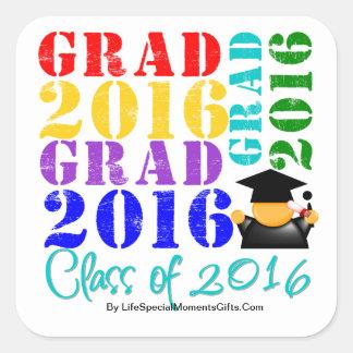 Grad  Class of 2016 Sticker