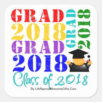 Grad  Class of 2018 Sticker