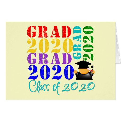 Grad  Class of 2020 Greeting Card