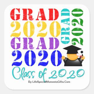 Grad  Class of 2020 Stickers