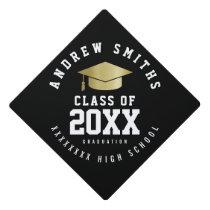 grad . graduate . graduation class year graduation cap topper