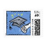 Grad Postage Stamp