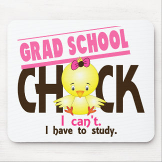 Grad School Chick 1 Mouse Pad