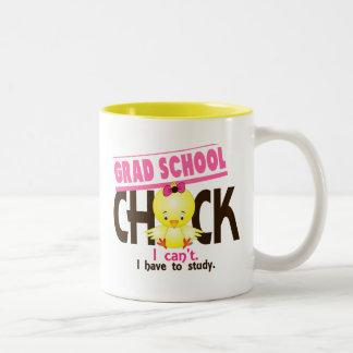 Grad School Chick 1 Two-Tone Coffee Mug