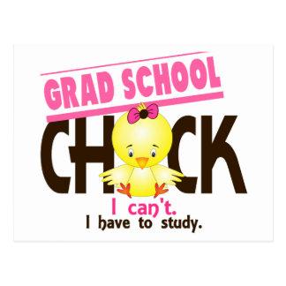 Grad School Chick 1 Postcard