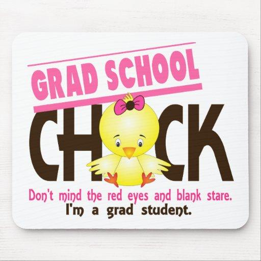 Grad School Chick 2 Mouse Pad