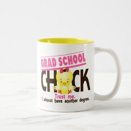 Grad School Chick 3 Two-Tone Coffee Mug