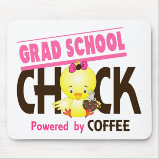 Grad School Chick 4 Mousepad