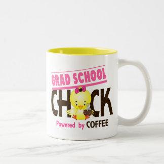 Grad School Chick 4 Two-Tone Coffee Mug