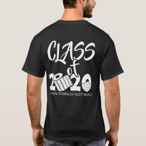 Grad Straight Outta Quarantine _ Class of 2020 T_Shirt
