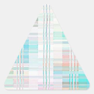 Gradas reconstruidas de Roberto S. Lee Pegatina Triangular
