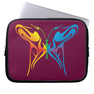 Gradated Butterfly Computer Sleeves