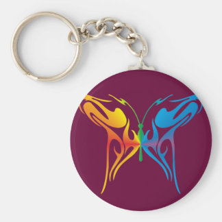 Gradated Butterfly Keychain