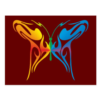 Gradated Butterfly Postcard