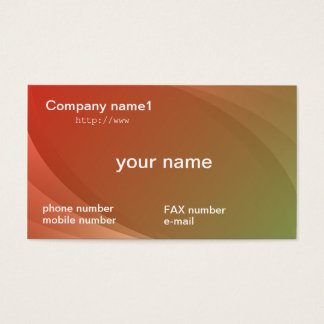 gradation business cards