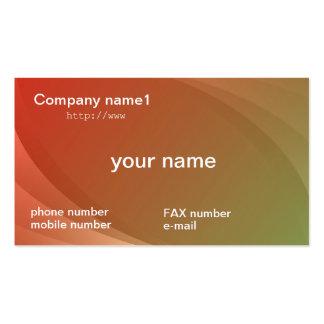 gradation business cards