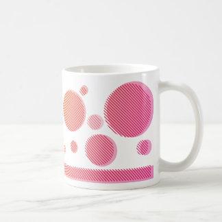 gradation in colour (orange→pink) coffee mug