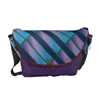 Gradation Stripe Courier Bag