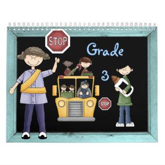 Grade 3 Memories Book Calendars