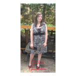Grade 8 Graduation Designed Book Mark Photo Greeting Card