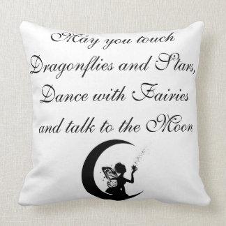 Grade A Cotton Throw Pillow 20x20/Fairy