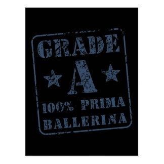 Grade A Prima Ballerina Postcard