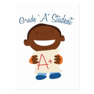 Grade A Student Postcard