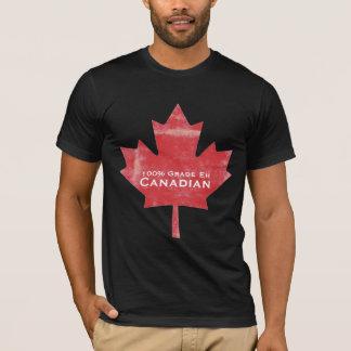 Grade EH Canadian Man Meat Maple Leaf  Design T-Shirt