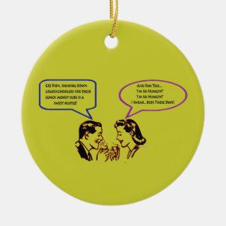 Grade School Shakedown Christmas Ornament