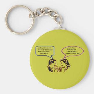 Grade School Shakedown Keychain