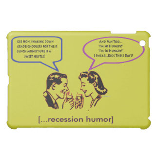 Grade School Shakedown Retro Humor  iPad Mini Cases